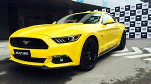 Ford Mustang Prices Ford Mustang Gt India Price Images From Launch Ceremony
