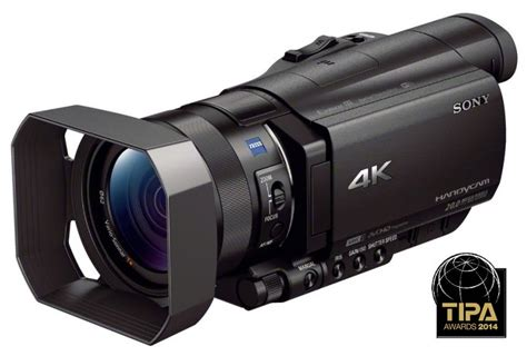 Kamera Profesional Sony sony fdr ax100e v testu 4k kamera pro 蝪irokou ve蝎ejnost 1 芻 225 st digilidi cz