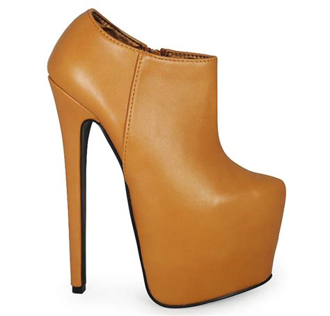 womens concealed platform 7 inch high stiletto heel