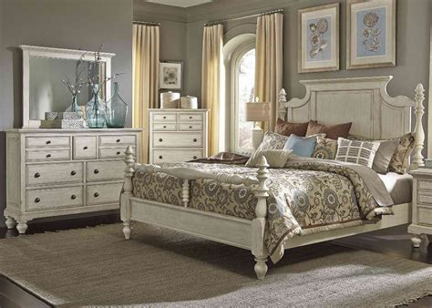 country bedroom sets for sale liberty furniture high country poster bedroom set in white