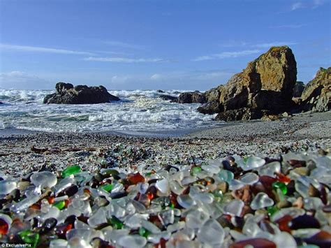 glass beach tourism glass beach