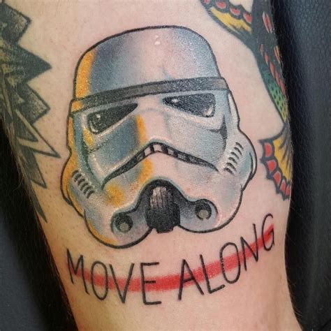 tattoo cincinnati stormtrooper helmet by mario johnston of white crane