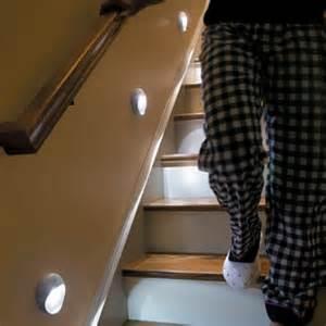 Battery Powered Stair Lights by Soft Glow Led Motion Sensor Light Improvements Catalog