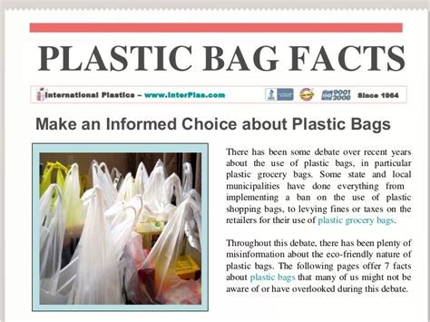 Articles The Search For The Bag by Plastic Bag Facts