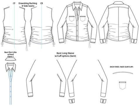 clothing templates for adobe illustrator 17 best images about illustrator fashion flat sketch