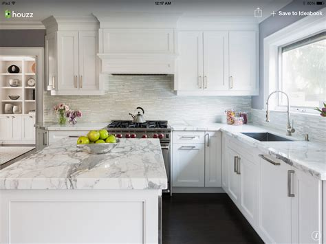 Houzz Kitchens White Cabinets White Kitchen Houzz Kitchen Remodel Pinterest Houzz Kitchens And House