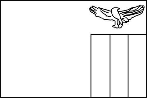 Panama Flag Coloring Page Cliparts Co