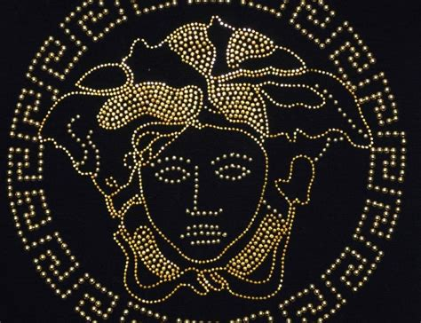 logo versace black versace emblem logo brands for free hd 3d