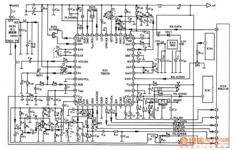 what is a complex integrated circuit tb8528 the communication rf compound integrated circuit lifier circuit circuit diagram