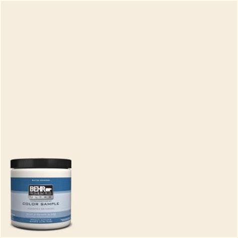 behr premium plus ultra 8 oz ppu5 10 heavy interior exterior satin enamel paint sle