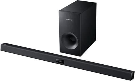 Hw Black samsung 2 1 channel black soundbar system hw f355 abt