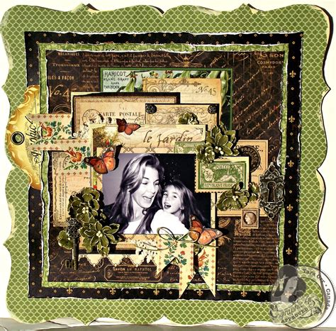 graphic 45 country layout you make me smile new graphic 45 cha