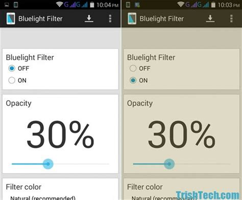 best blue light filter app for android protect eyes from blue light with bluelight filter for android