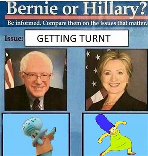 Bernie Vs Hillary Memes - the best of the dumbest of the bernie or hillary meme smosh