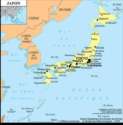 la cuisine fran軋ise meubles carte japon plan g 233 ographie arts et voyages