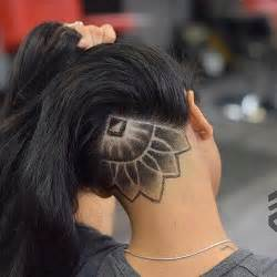 hairstyle for 60 with shaped with turkey neckneck 60 chic edgy undercut design ideas hair motive hair motive