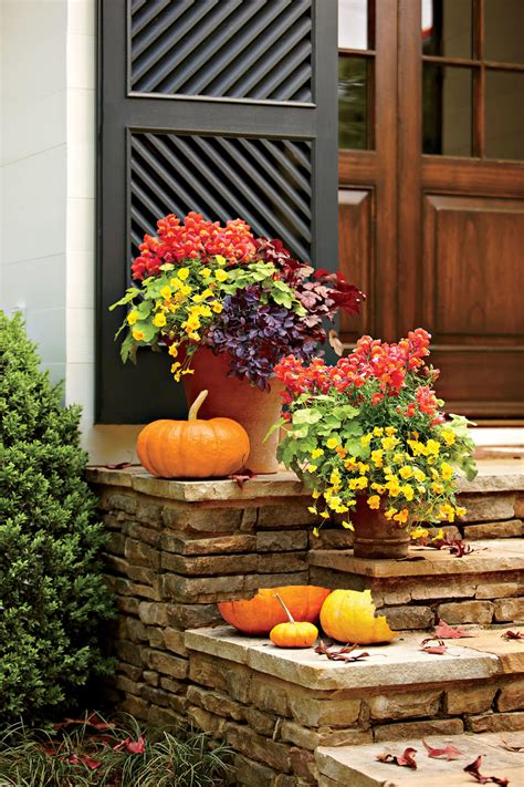 Garden Ideas For Fall Fall Container Gardening Ideas Southern Living