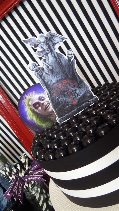 beetlejuice birthday party ideas photo    catch  party
