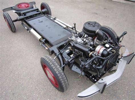 az motor parts basically new remanufactured 1989 citroen 2cv chassis
