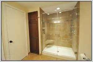 Shower Pans With Bench Kohler Shower Base Home Design Ideas