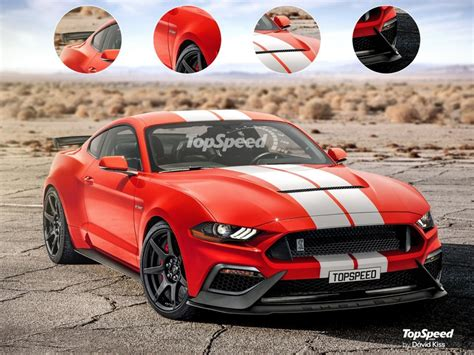 2019 shelby gt500 rendered 2019 ford shelby gt500 mustang ford authority