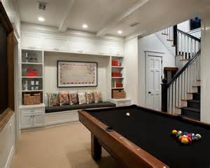 Free Games Escape Room - basement pool room transitional den library office vallone design