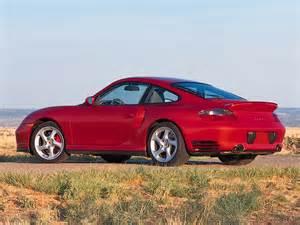 2001 Porsche 911 Turbo Review 2001 Porsche 911 Turbo Rear Angle 1024x768
