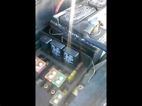 2005 honda civic radiator fan switch radiator fan relay fan switch not working