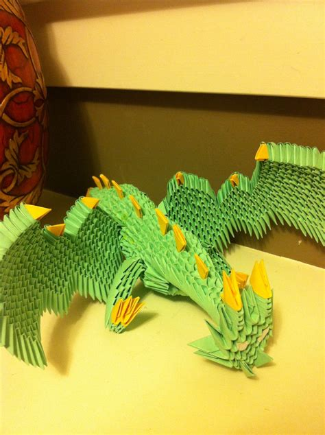 3d Origami Dragonfly - 3d origami by waddlesthepenguin on deviantart