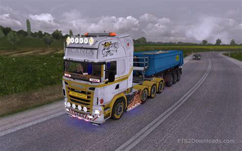 golden trucks awesome truck simulator 2 gold white skin for
