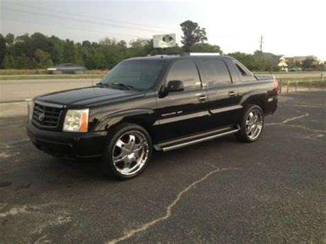 find used 2002 cadillac escalade pick up ext tv dvd gps 22 inch wheels in montreal quebec canada buy used 2002 cadillac escalade ext base crew cab pickup 4 door 6 0l in sumter south carolina