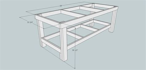 woodworking golden ratio golden ratio workbench frame sketchup goldenratio