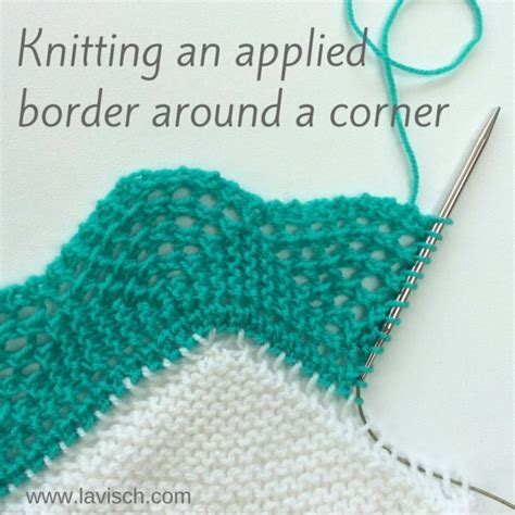 how to crochet a border on a knitted blanket tutorial knitted on border turning the corner la