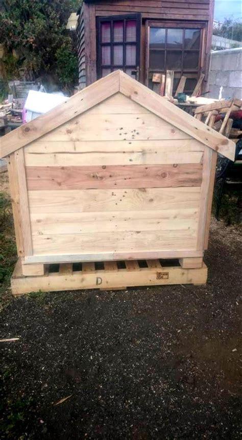 handmade dog house pallets wood dog house pallet furniture diy