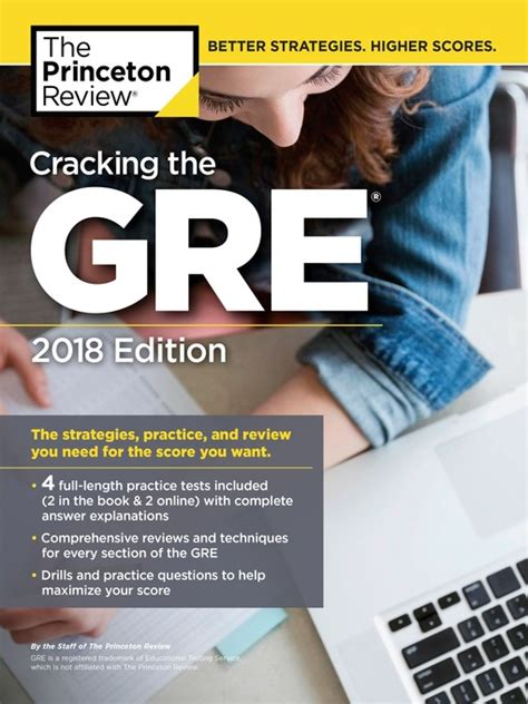 cracking the act with 6 practice tests 2018 edition the techniques practice and review you need to score higher college test preparation books cracking the gre with 4 practice tests 2018 edition