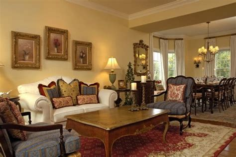 wall treatments  french country living room