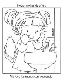 printable coloring pages healthy habits free coloring pages of hygiene and habits