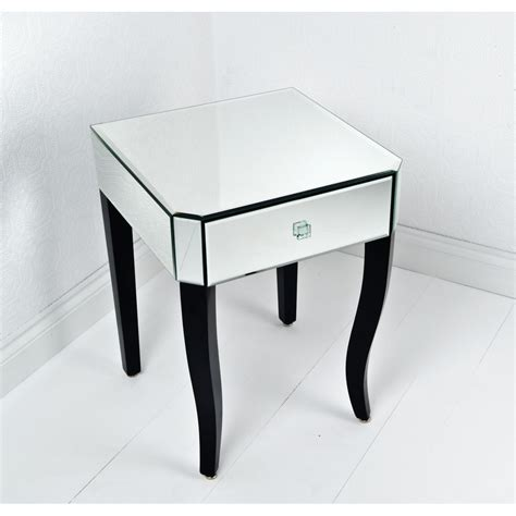 mirror accent tables mirrored accent table mirrored accent side end table