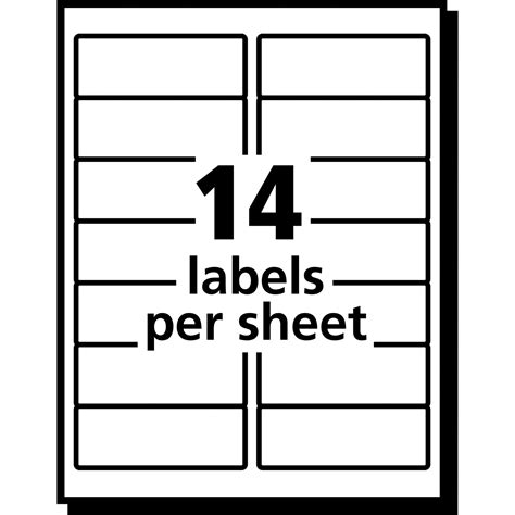 avery 6 labels per sheet template avery 33 up label template