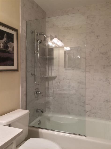 Fixed Glass Panel For Shower by Splashguard Shower Doors And Fixed Panels