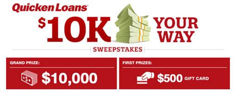 Quicken Loans Giveaway - quicken loans 10k your way sweepstakes sun sweeps