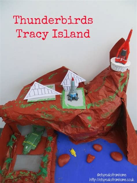 thunderbirds tracy island  speaks  home
