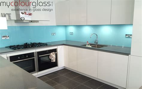 Ideas For Kitchen Colours To Paint kitchen glass splashbacks in uk at mycolourglass