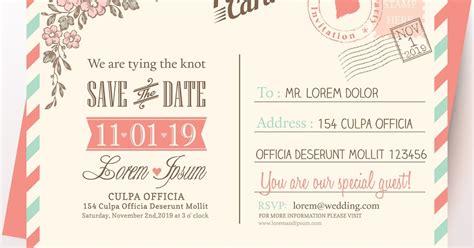 desain grafis kartu undangan pernikahan pusat desain grafis desain undangan pernikahan unik