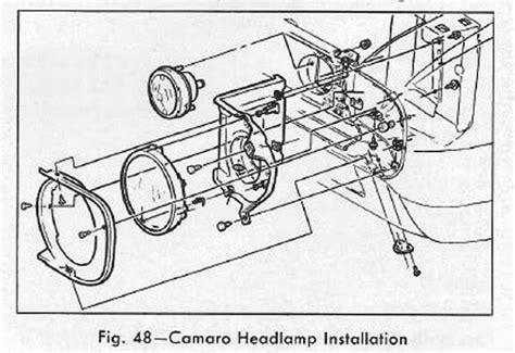1968 camaro headl wiring diagram wiring diagram schemes