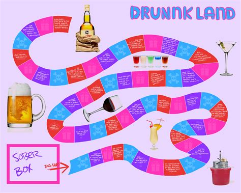 printable drinking board games 8 best images of printable drinking games drink if