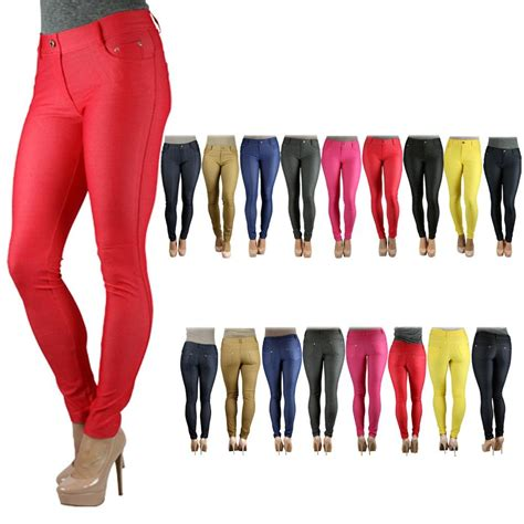 colored jeggings yelete s colored jeggings soft