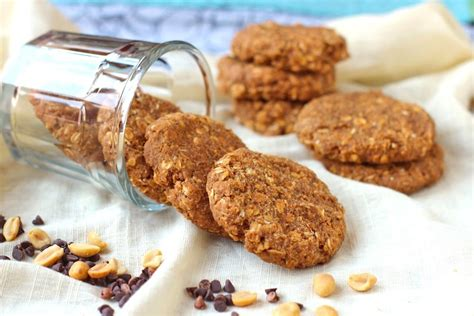 healthy cookies healthy peanut butter oatmeal cookies desserts with benefits