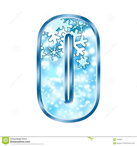 up letter with snow winter alphabet letter o stock illustration image of