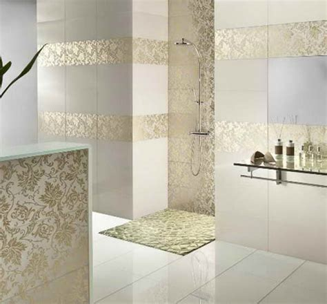 Modern Bathroom Tile Design Bloombety Modern Bathroom Tile Designs With Glass Shelves Options In Modern Bathroom Tile Designs